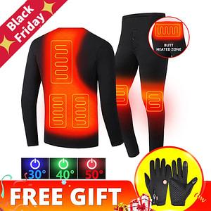 Unisex Thermal Heated Motorcycle Jacket